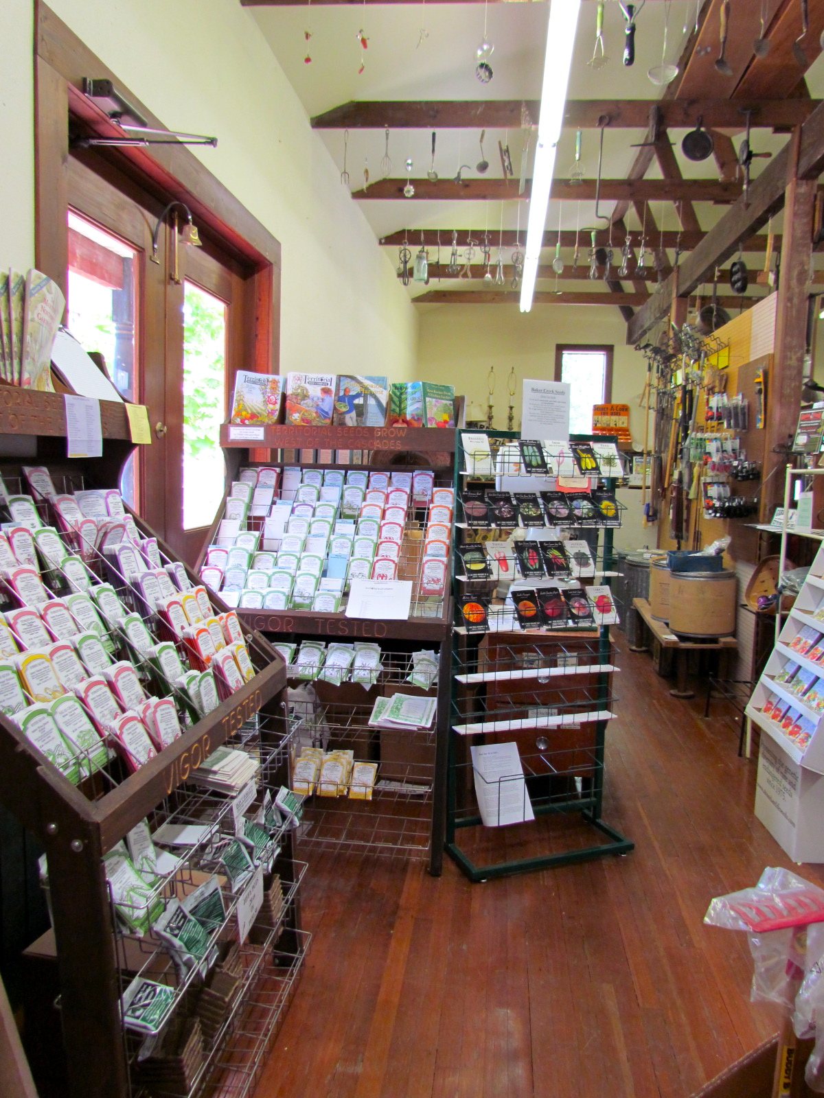 the country store and gardens and beall greenhouses on vashon